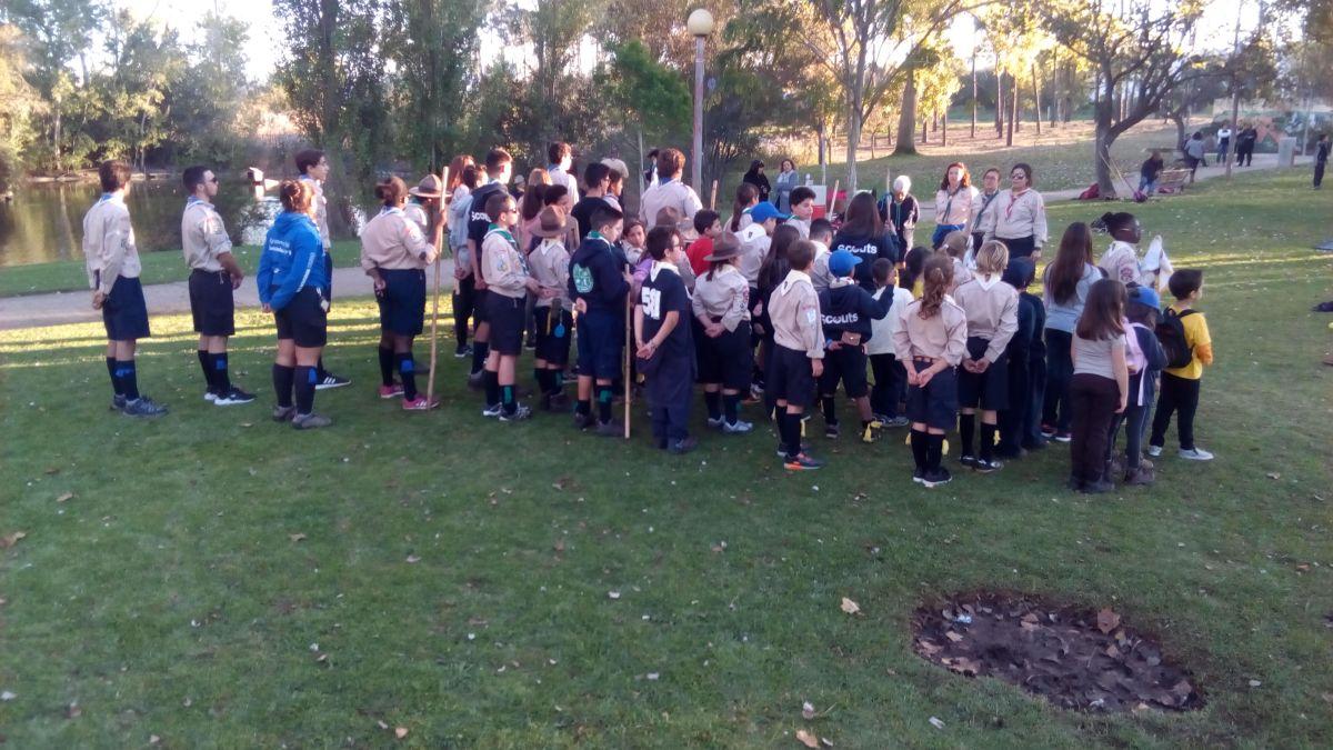 """O Agrupamento de Escuteiros 581 de Vila Nova de Santo André celebra o """"Magusto"""" de 2017"""