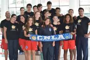 Natação: CNLA conquista 68 pódios na Piscina deSines