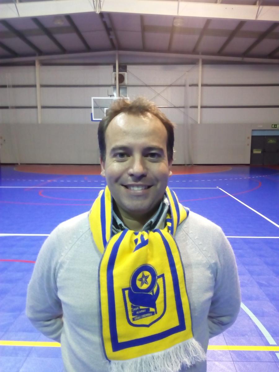 O empresário Ricardo Silva foi eleito presidente do ESA