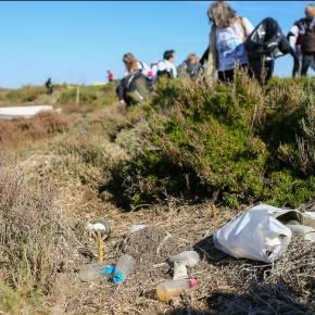 Perto de 7,5 toneladas de lixo recolhidas no Estuário doSado