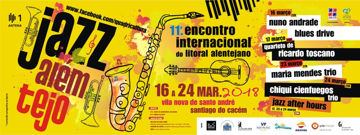 Jazz AlémTejo regressa entre 16 e 24 de março