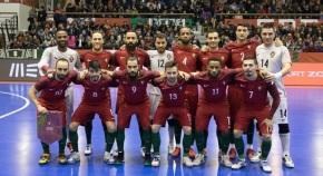 Seleção de Futsal joga dois jogos no Pavilhão Multiusos deSines