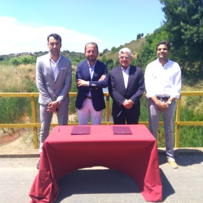 Câmaras de Santiago e Grândola assinam acordo para reabilitação daEM545