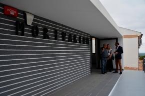 Obras da Casa Mortuária de Santiago do Cacém na fasefinal