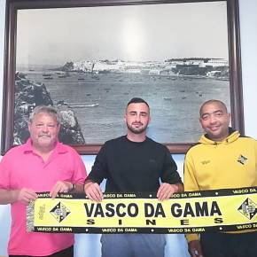 Diogo Filipe é o coordenador geral do futebol deformação