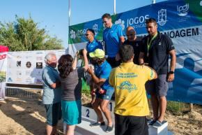 Canoístas ligaram Vila Nova de Milfontes à Ilha doPessegueiro
