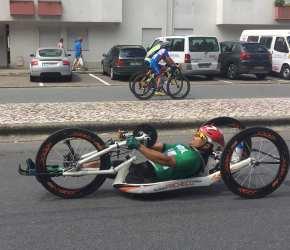 Flávio Pacheco na seleção nacional deparaciclismo