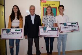 CA Nota 20 entrega prémios a cinco jovens de Santiago doCacém