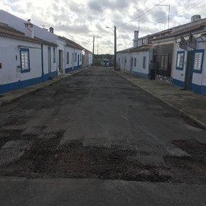 Concluída pavimentação da rua Porto Batel emErmidas-Sado