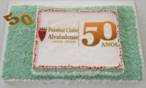 Futebol Clube Alvaladense celebrou as bodas deouro