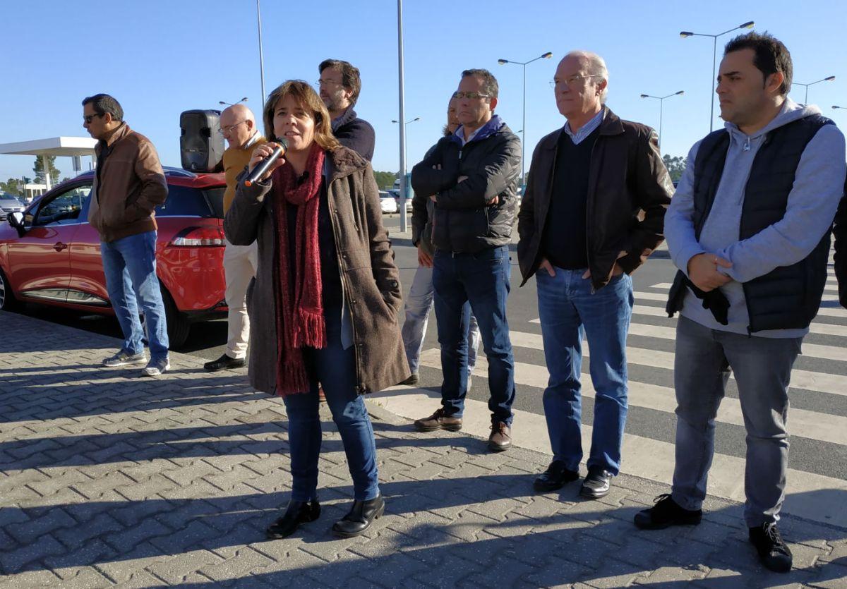 Trabalhadores da Petrogal e da Martifer concentram-se contra o fim da contração coletiva
