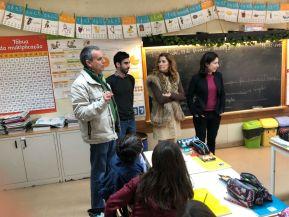 Joana Mortágua (BE) visita escolas de Santo André e alerta para desinvestimento doGoverno