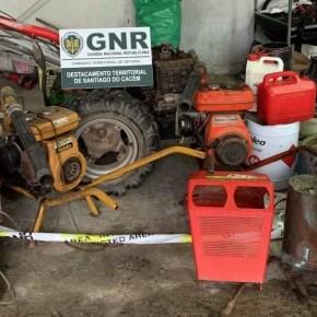 Dois homens detidos por furto de máquinas agrícolas emSines