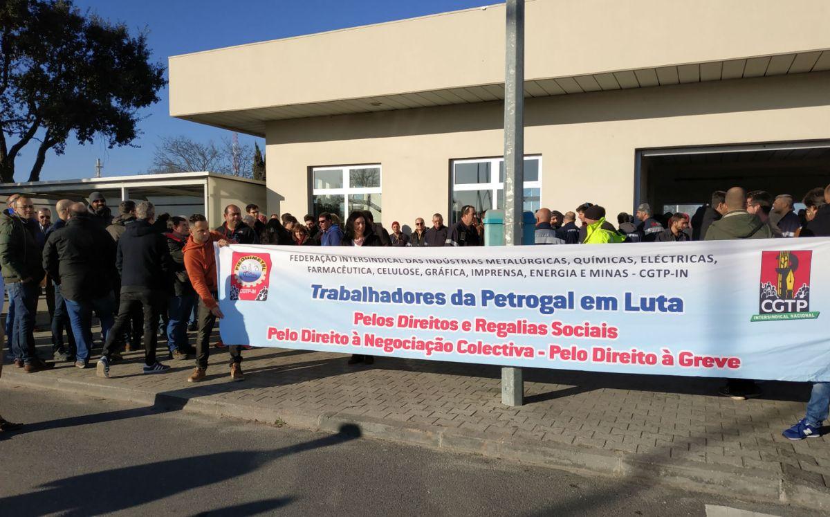 Trabalhadores da Petrogal prolongam greve até ao fim de Maio