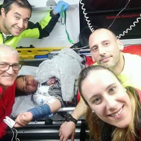 Bebé nasce em ambulância dos bombeiros deSines