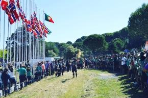 Trilho do Onawa 2019 reuniu mais de 600escuteiros