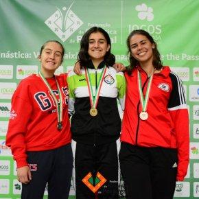 Ana Silva sagrou-se campeã nacional deginástica