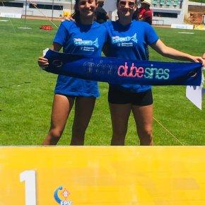 Daniela Ramos e Mafalda Martins campeãsnacionais