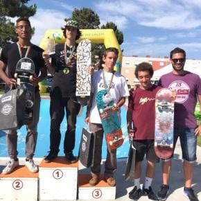Skateplaza em V.N. de Santo André recebeu dezenas deatletas