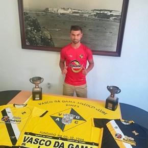 Guarda-redes Tiago Lança reforça o Vasco daGama
