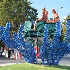 Santiago do Cacém – inauguração do monumento alusivo ao 1º automóvel que circulou emportugal