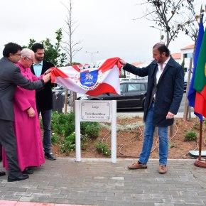 Justa homenagem ao Padre Manuel Malvar com atribuição do seu nome ao Largo daIgreja