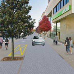 Sines investe 1,2 milhões de euros para qualificar rua Marquês dePombal
