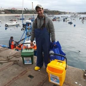 """Projeto """"A pesca por um mar sem lixo"""" arranca no porto deSines"""