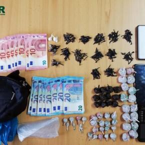 GNR detém homem na posse de mais de 1.500 doses de droga emSines