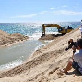 Lagoa de Santo André já está aberta aomar