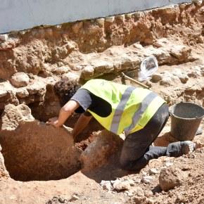 Vestígios arqueológicos descobertos emAlvalade