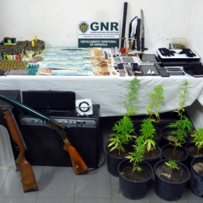 GNR de Grândola deteve quatro homens por tráfico deestupefacientes