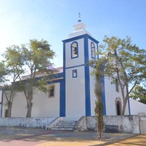 É preciso ajudar para concluir as obras de beneficiação da Igreja Matriz da Aldeia de SantoAndré
