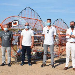 Inauguração de monumento alusivo à preservação dos oceanos na Lagoa de SantoAndré