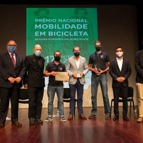 """Chaparros receberam prémio de """"Mobilidade em Bicicleta"""""""