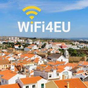 Centro da cidade de Sines com WiFigratuito