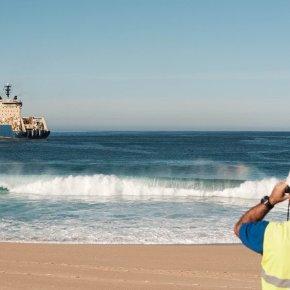 Cabo submarino da EllaLink ancorou em Sines e cará operacional no 2.º trimestre desteano
