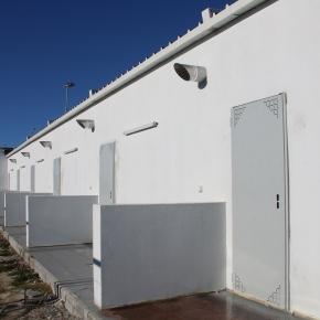 Alcácer do Sal: Edifícios do novo parque urbano em fase deconclusão