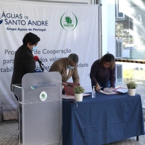 Águas de Santo André assina Protocolo de Cooperação com a Quercus para reforço dos valores da sustentabilidade ambiental nacomunidade