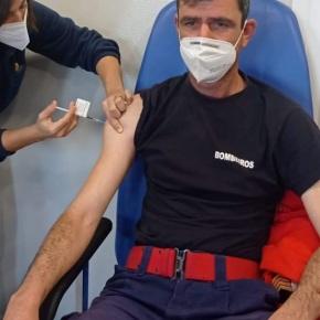 Cerca de 160 bombeiros vacinados contra a covid-19 no LitoralAlentejano