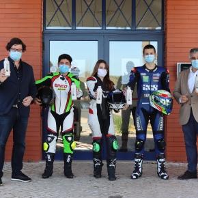 Águas de Santo André assina protocolos com 3 jovens Atletas de Vila Nova de SantoAndré