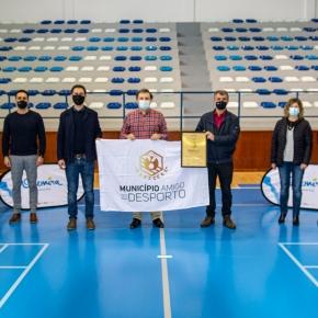 Odemira recebe galardão de município amigo dodesporto