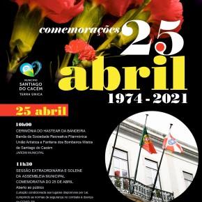 CMSC: Comemorações do 25 de Abril assinaladas online para todas asidades