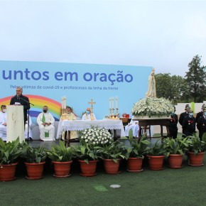 Unidade Pastoral e Câmara de Alcácer do Sal homenagearam as vítimas de Covid-19 e os profissionais da linha da frente que combatem aepidemia
