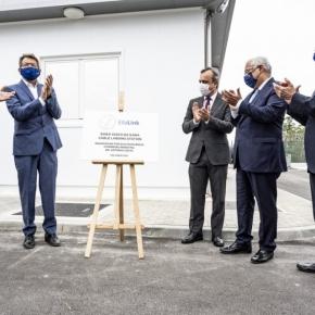 António Costa inaugurou em Sines cabo submarino'EllaLink
