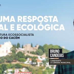 Bruno Candeias é o candidato do Bloco de Esquerda à C.M. de Santiago doCacém
