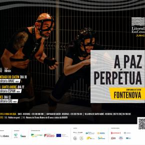 Litoral EmCena: Fontenova apresenta 'A Paz Perpétua' dias 10, 11 e 12 deJunho