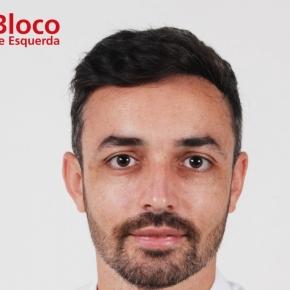 Ruben Pereira é o candidato do BE à Junta de Freguesia deErmidas-Sado