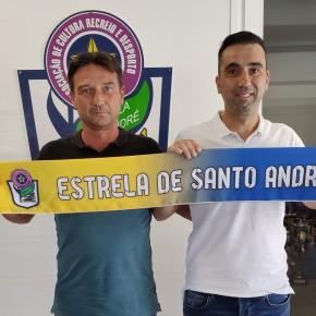 Paulo Silva é o novo treinador do Estrela de SantoAndré