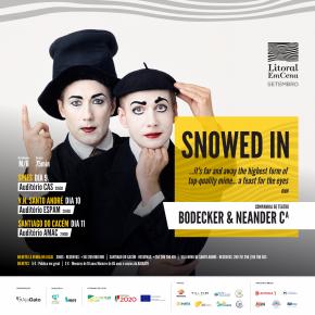 Teatro Só, Bodecker & Neander Cª e Gato SA em Setembro no LitoralEmCena